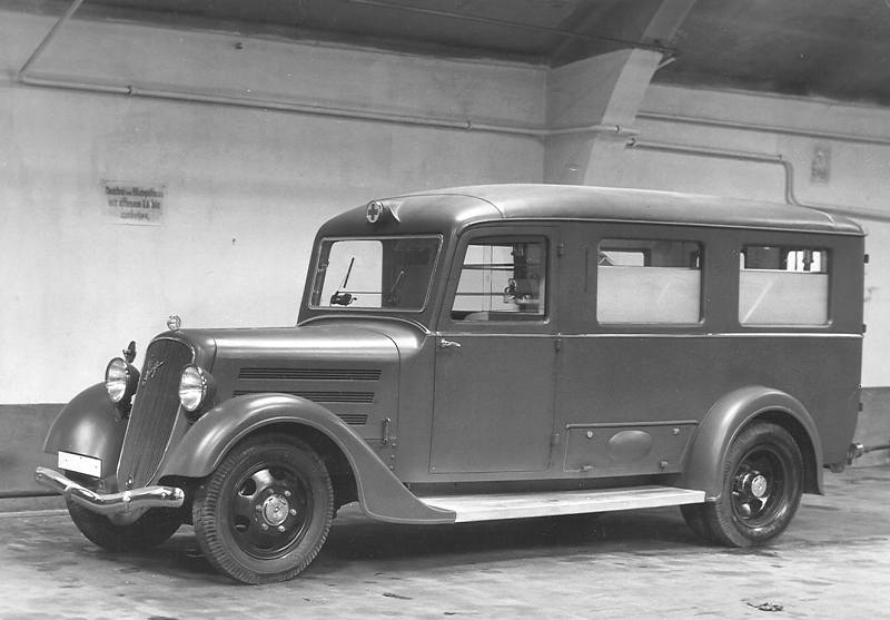 1932 Steyr 740 - Ambulanz