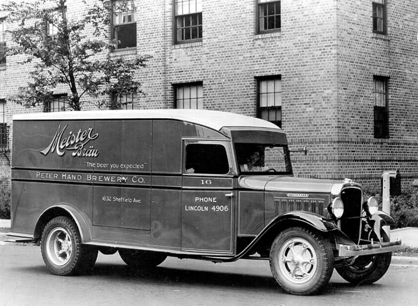 1932 Studebaker beer truck model S-3