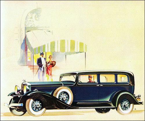 1932 Studebaker President Eight Limousine