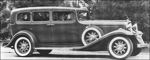 1932 Studebaker President Sedan Seven Pass