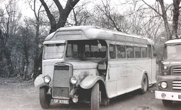 1933 Leyland Tiger TS4 with Harrington C32R body