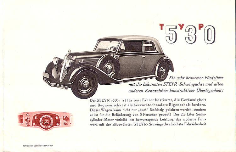 1933 steyr 530 s36 p27