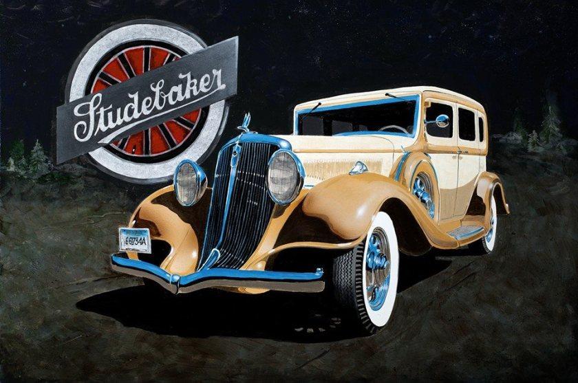 1933 Studebaker Ad