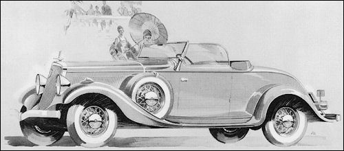 1933 Studebaker Commander Convertible Roadster