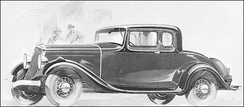 1933 studebaker Commander Four Pass Coupe