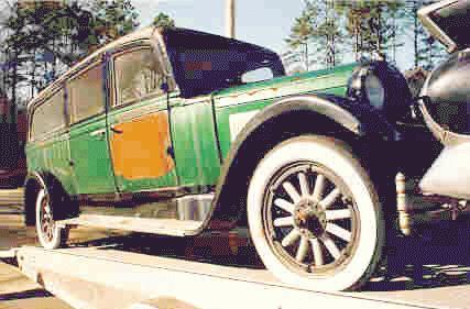 1933 studebaker ER standard Six hearse