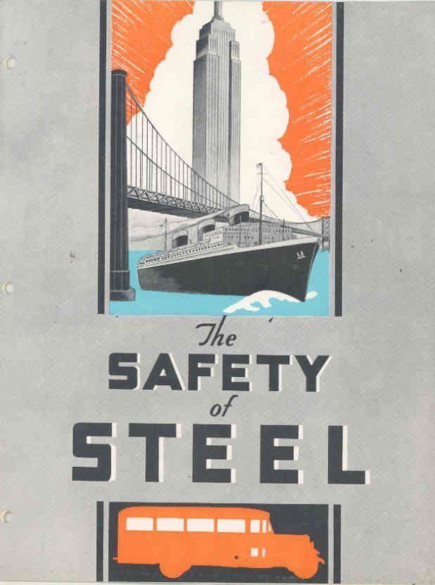 1933 Superior School Bus Brochure