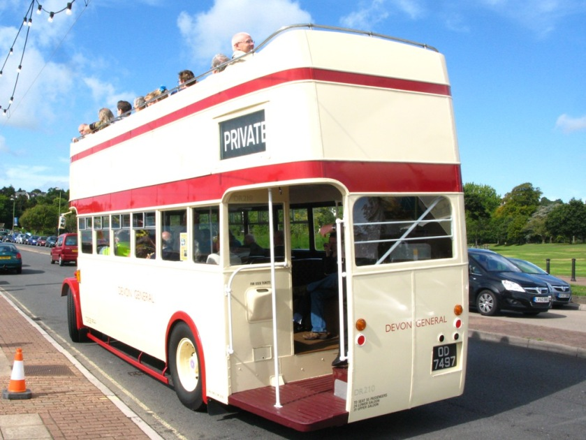 1934 AEC Regent built with a conventional double deck body by the Short Brothers b