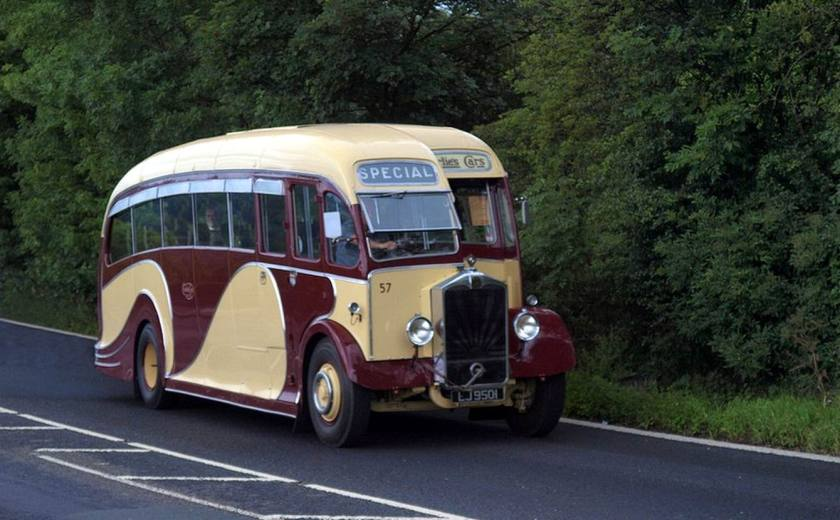 1934 Albion-Single-Decker EJ-9501-Buses