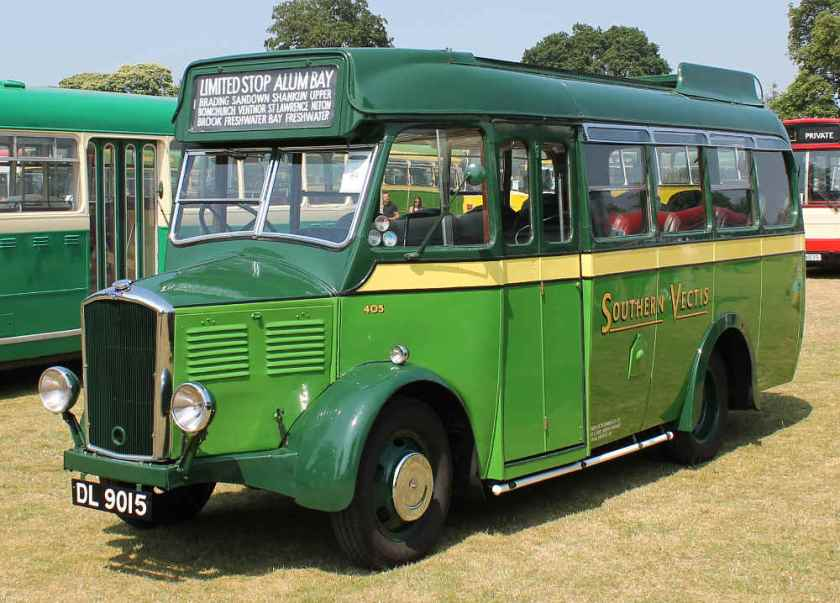 1934 Dennis Ace with Harrington B20F body