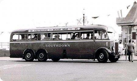 1934 Leyland Tiger TS6T AUF-851Short Bros B40C 1934 B39C 1946