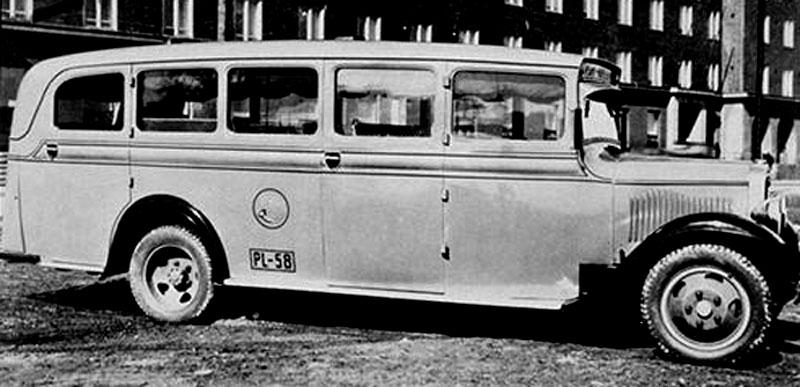 1934 Sisu S-322 postbus