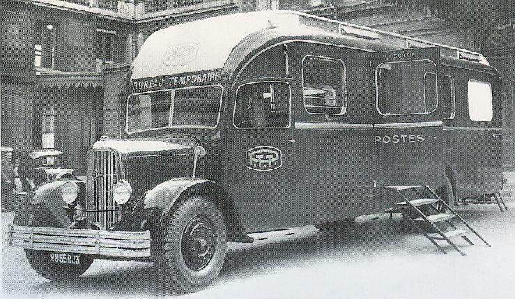 1934 Stewart truck MHV P&L PTT