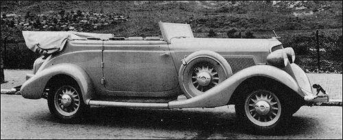 1934 studebaker  commander regal 8 convert pennock