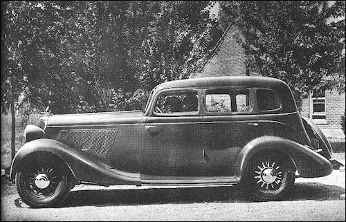 1934 studebaker DictatorCustomSedan