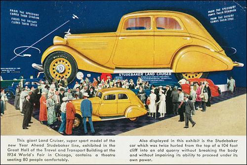 1934 Studebaker LandCruiser