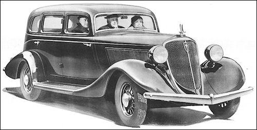 1934 Studebaker  PresidentCustomSedanSix-pass