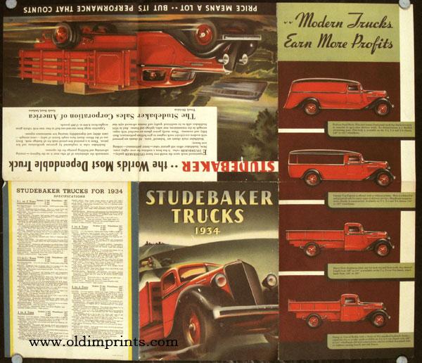 1934 Studebaker Trucks