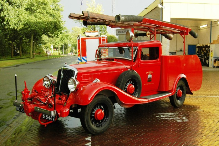 1935 Brandweer Trucks Studebaker B-8467f