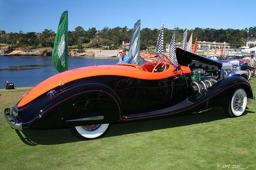 1935 Duesenberg J Gurney Nutting Speedster