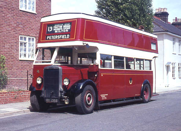 1935 Leyland TD4 with an English Electric O26-24R body