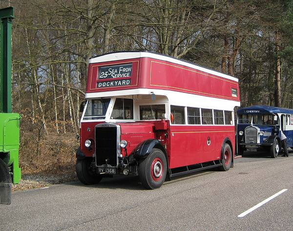 1935 Leyland TD4 with English Electric body