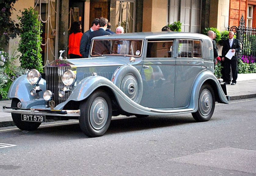 1935 Rolls-Royce 20-25 Gurney Nutting Saloon