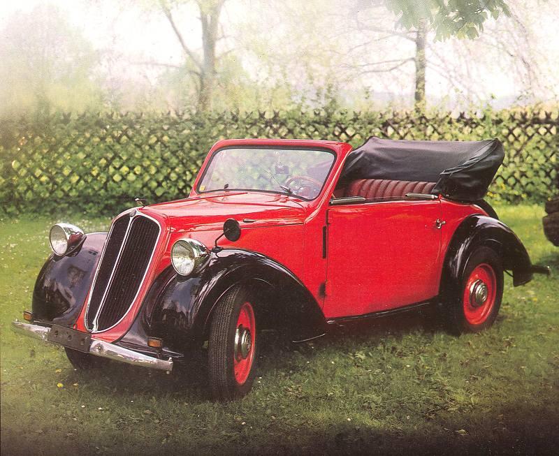 1935 Steyr 100 Kabrio a