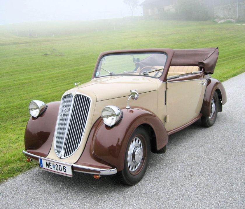 1935 Steyr 100 Kabrio