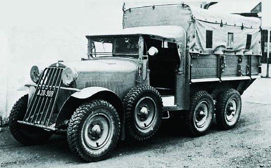 1935 Steyr-440 (40D), 6x6