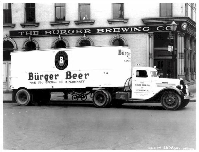 1935 Studebaker Beer Transport