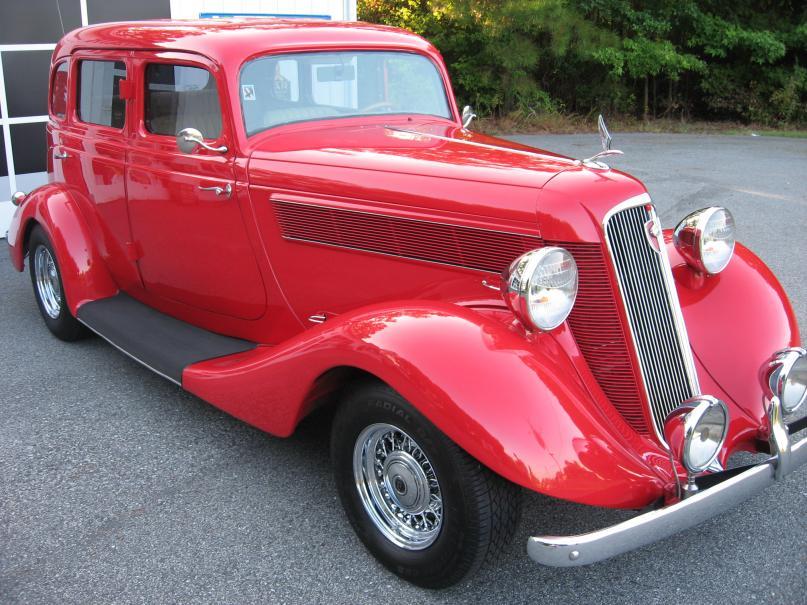 1935 Studebaker Dictator 018 Hood