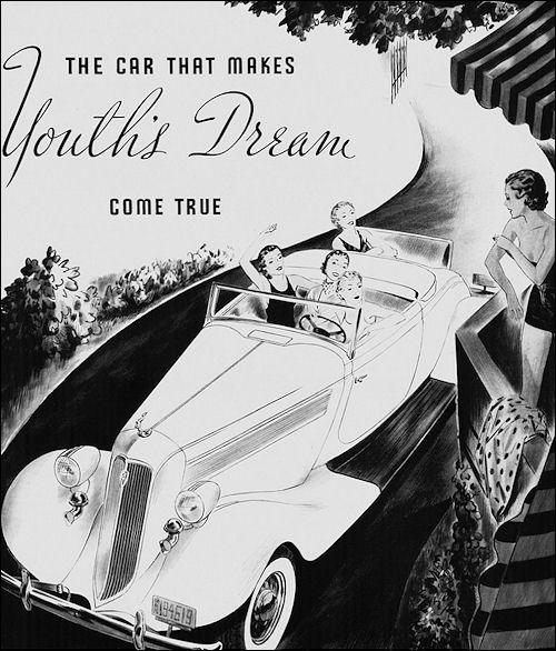 1935 Studebaker President 8 Convertible Roadster
