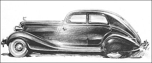 1935 Studebaker President Land Cruiser