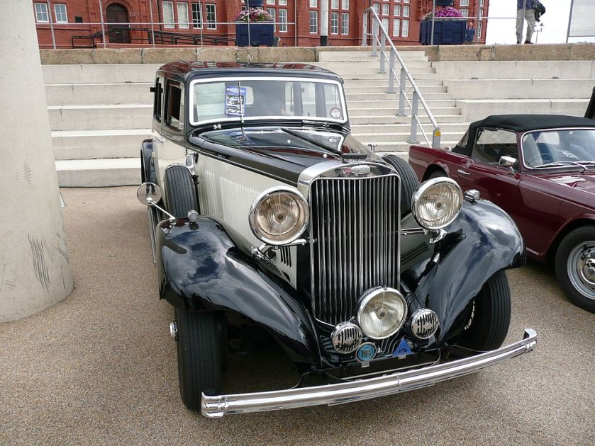 1935 Sunbeam Model 25 Saloon