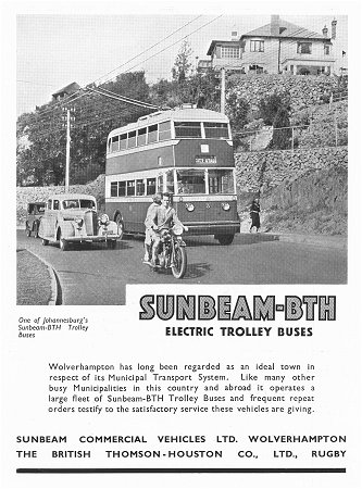 1935 Sunbeam TB advert
