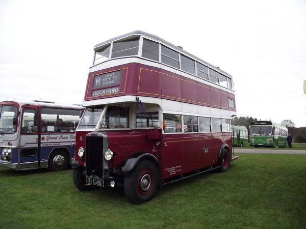 1935-vintage English Electric-bodied Leyland TD4a