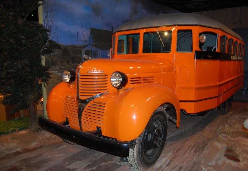 1936 Carpenter Bus at Smithsonian Institution Antique Dodge Schoolbus