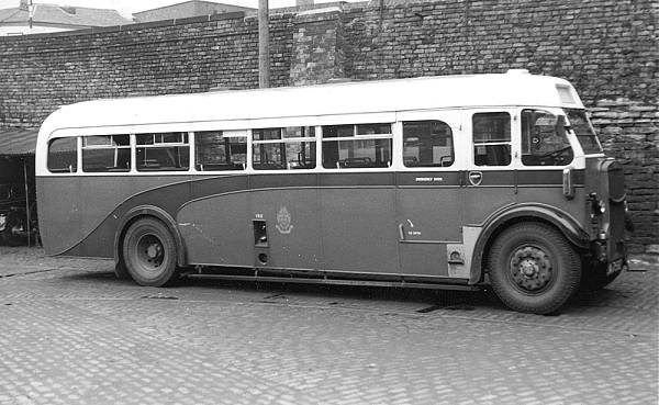 1936 Leyland Tiger TS7 with English Electric B35C