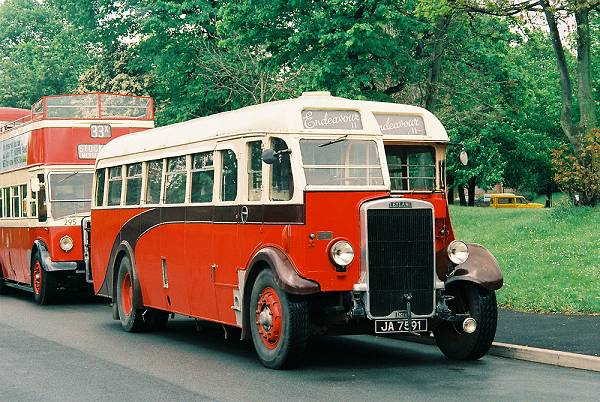 1936 Leyland TS7 with English Electric body