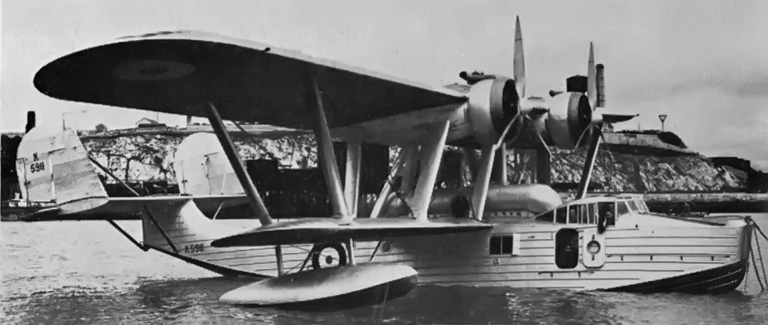 1936 Saunders Roe A.27 London