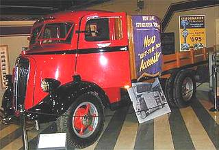 1936 Studebake Ace Cab Forward