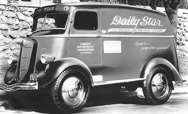 1936 studebaker 2m Toronto Daily Star