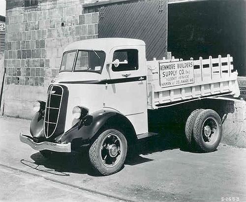 1936 Studebaker 2M2 Kenwood Van Tractor Truck