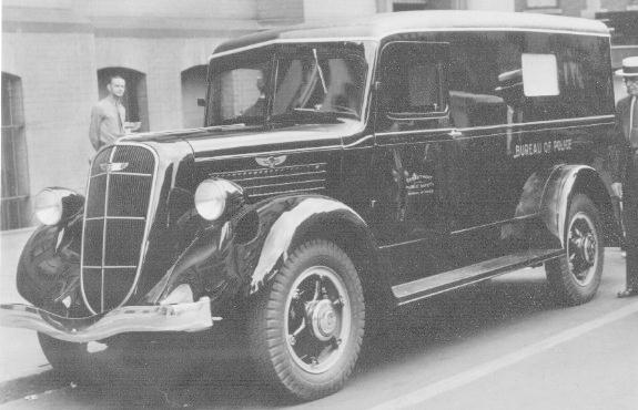 1936 studebaker 2T233 Police