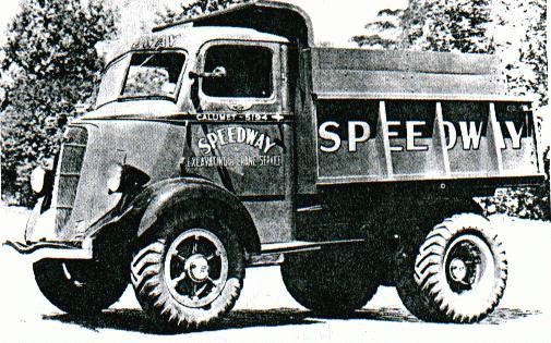 1936 Studebaker AH  Speedway