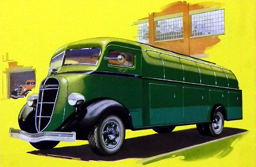 1936 Studebaker Cabine semi-avance type Metro 1936 DSCN8287