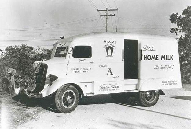 1936 Studebaker Coe Milkman