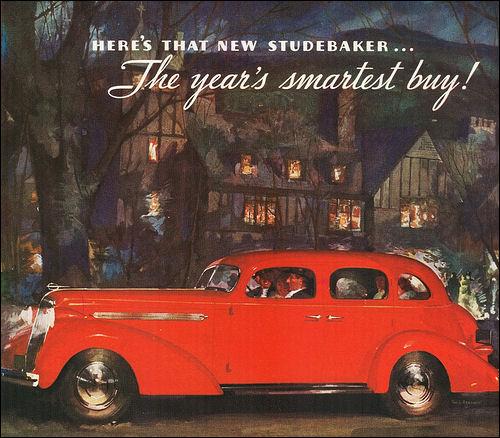 1936 Studebaker President Cruising Sedan 1