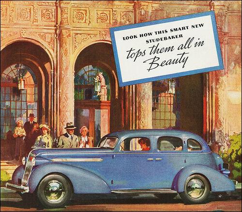 1936 Studebaker President Cruising Sedan 2